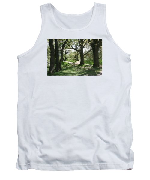 Tank Top featuring the photograph Hill 60 Cratered Landscape by Travel Pics