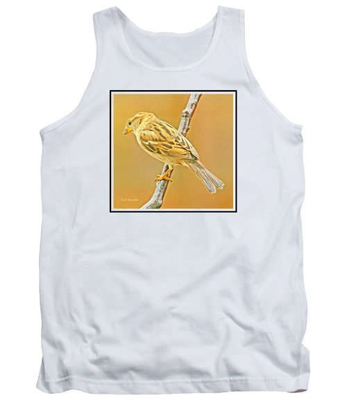 Tank Top featuring the photograph House Sparrow by A Gurmankin