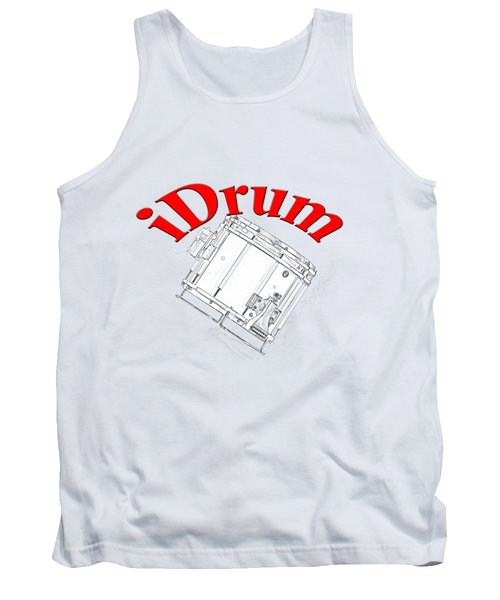iDrum Tank Top by M K  Miller