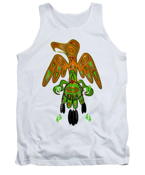 Imprint Native American Tank Top by Sharon and Renee Lozen