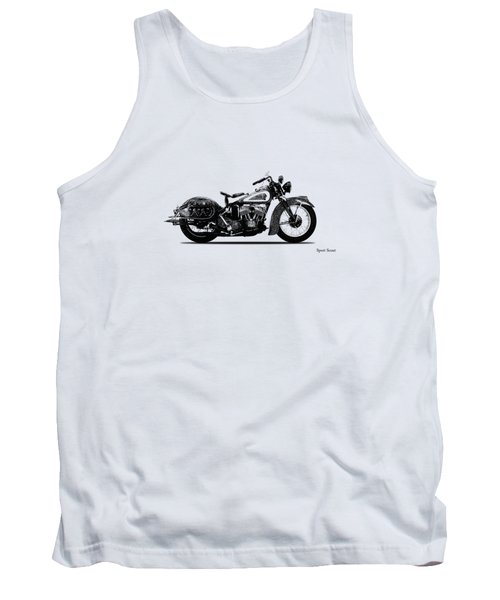 Indian Sport Scout 1939  Tank Top by Mark Rogan