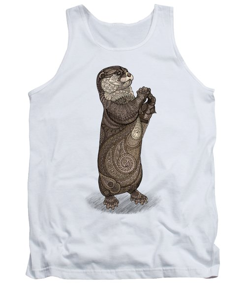 Infatuated Otter Tank Top by ZH Field