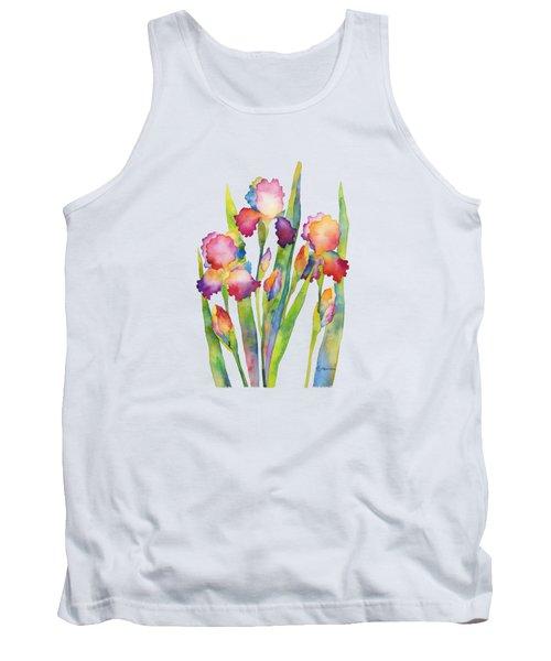 Iris Elegance Tank Top by Hailey E Herrera
