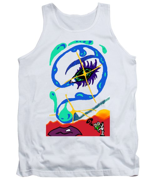 iseeU Tank Top by Flyn Phoenix