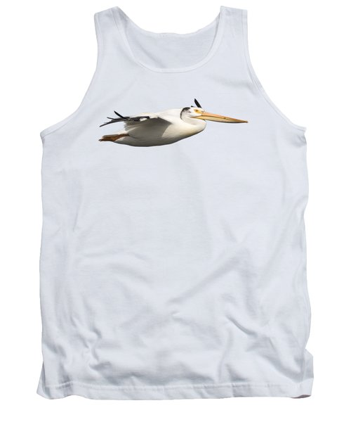 Isolated Pelican 2016-1 Tank Top by Thomas Young