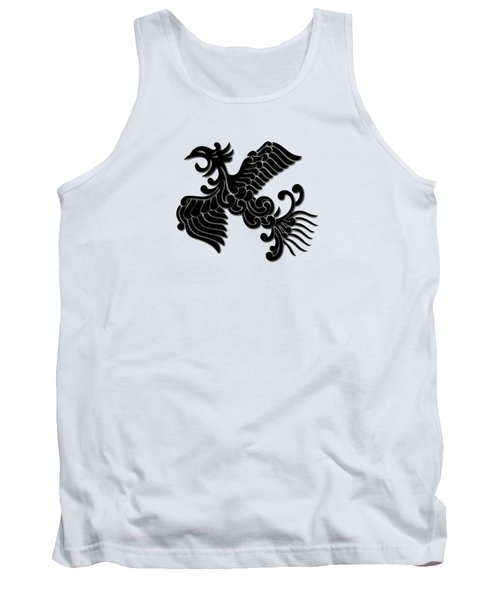 Phoenix Tee Shirt 3 Tank Top by Nathan Beardsley