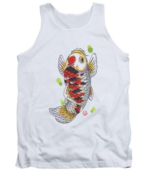 Koi Fish Tank Top by Shih Chang Yang