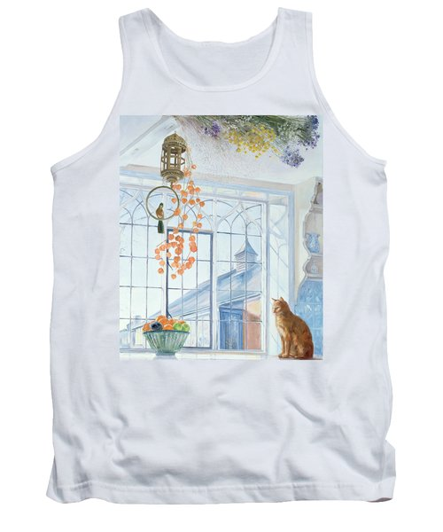 Lanterns Tank Top by Timothy Easton