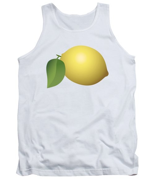 Lemon Fruit Tank Top by Miroslav Nemecek