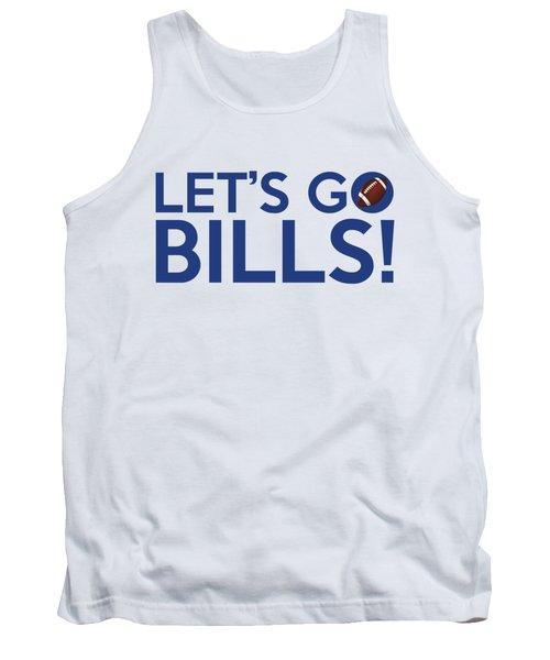 Let's Go Bills Tank Top by Florian Rodarte