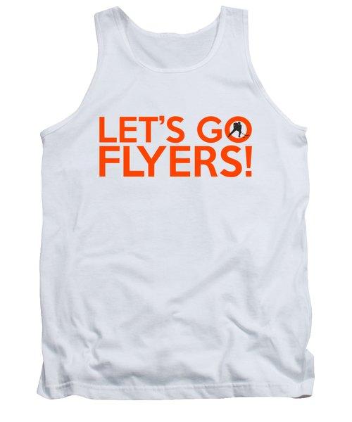 Let's Go Flyers Tank Top by Florian Rodarte