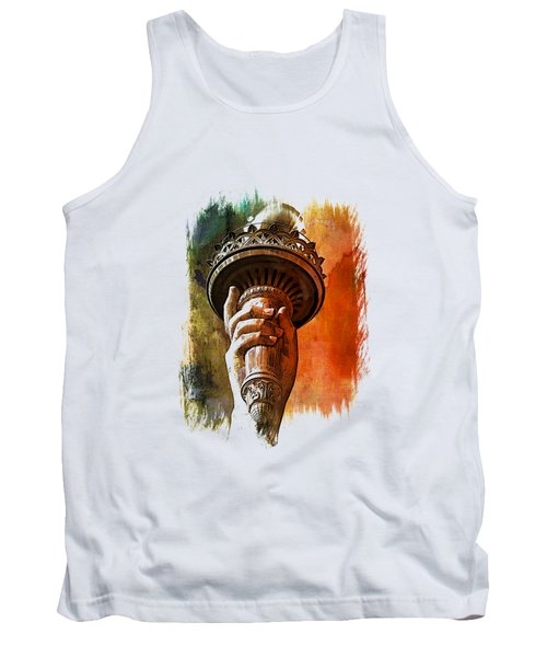 Light The Path Art 1 Tank Top by Di Designs