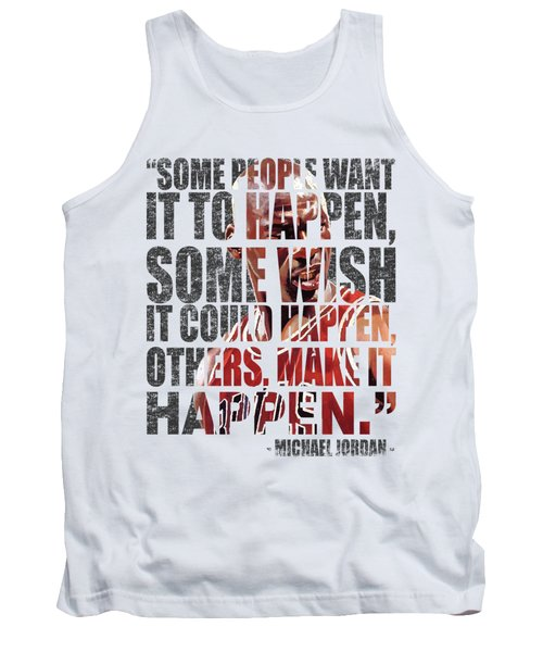 Make It Happen Tank Top by Iman Cruz