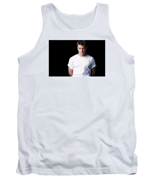 Matt Damon Tank Top by Iguanna Espinosa