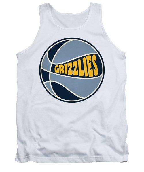 Memphis Grizzlies Retro Shirt Tank Top by Joe Hamilton