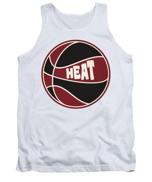 Miami Heat Retro Shirt Tank Top by Joe Hamilton