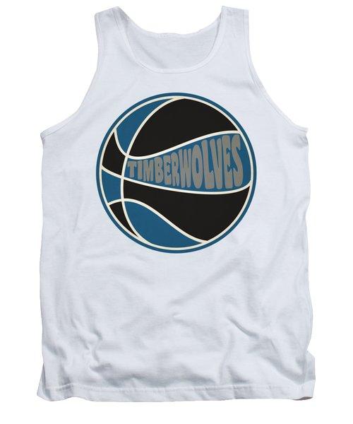 Minnesota Timberwolves Retro Shirt Tank Top by Joe Hamilton