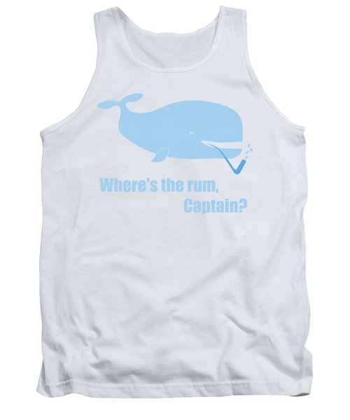 Moby Dick Or The Whale Tank Top by Frank Tschakert