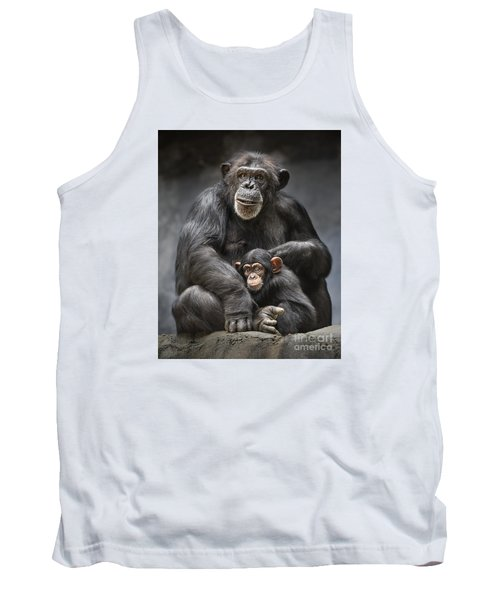 Mom And Baby Tank Top by Jamie Pham