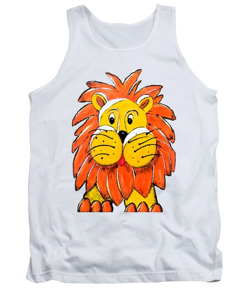 Mr. Lion Tank Top by Tami Dalton