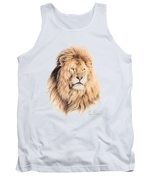 Mufasa Tank Top by Lucie Bilodeau