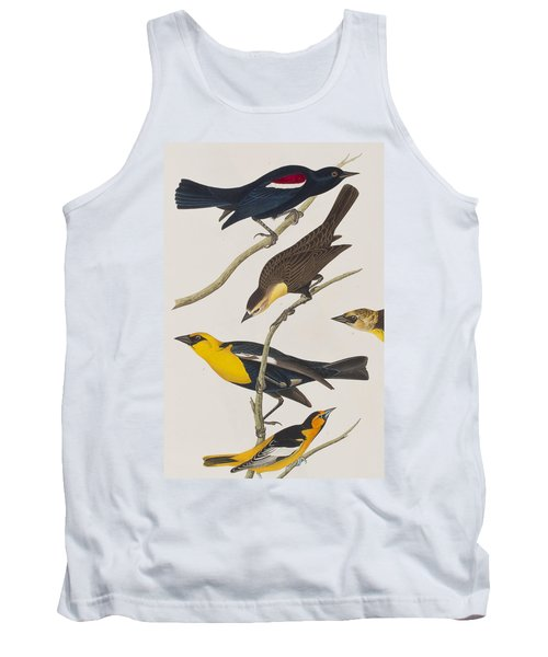 Nuttall's Starling Yellow-headed Troopial Bullock's Oriole Tank Top by John James Audubon