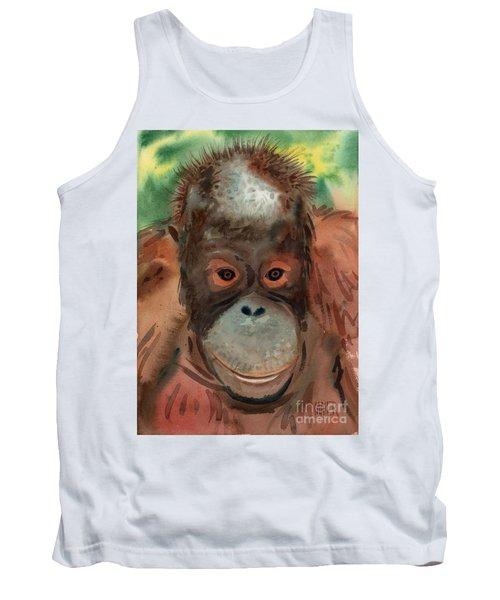 Orangutan Tank Top by Donald Maier