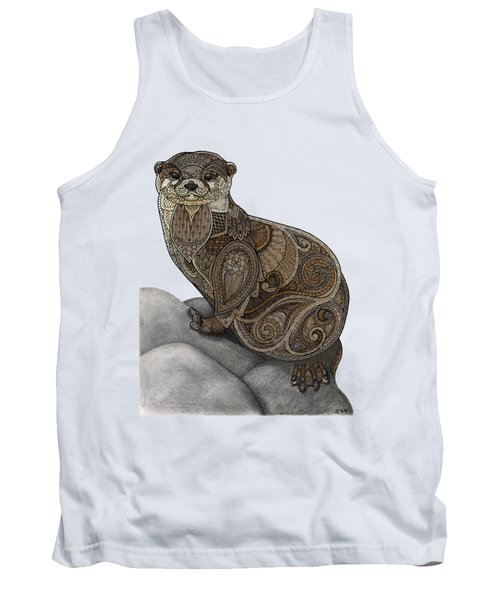 Otter Tangle Tank Top by ZH Field