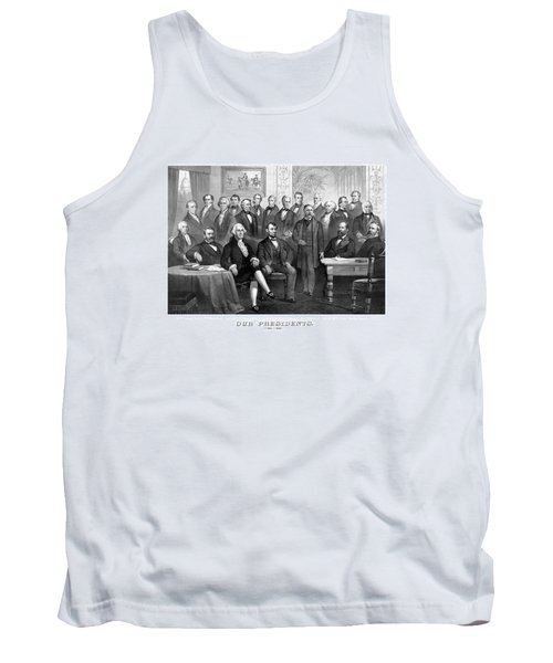 Our Presidents 1789-1881 Tank Top by War Is Hell Store