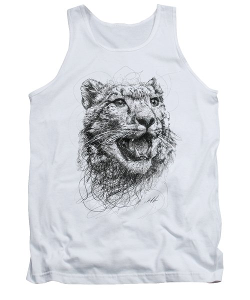 Leopard Tank Top by Michael  Volpicelli