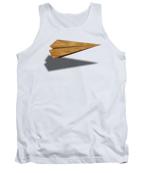 Paper Airplanes Of Wood 9 Tank Top by YoPedro