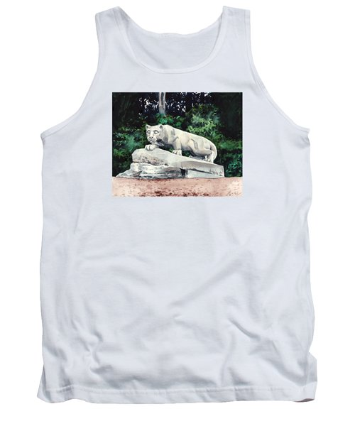 Penn State Nittany Lion Shrine University Happy Valley Joe Paterno Tank Top by Laura Row
