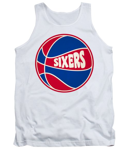 Philadelphia 76ers Retro Shirt Tank Top by Joe Hamilton