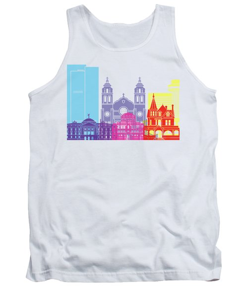 Phoenix Skyline Pop Tank Top by Pablo Romero