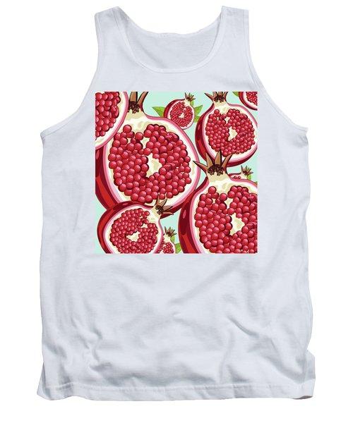 Pomegranate   Tank Top by Mark Ashkenazi