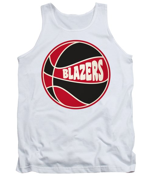 Portland Trail Blazers Retro Shirt Tank Top by Joe Hamilton