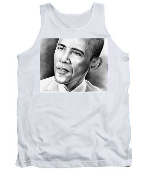 President Barack Obama Tank Top by Greg Joens
