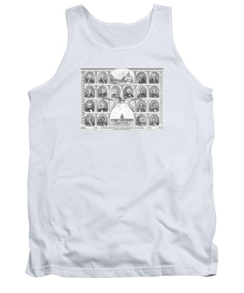 Presidents Of The United States 1776-1876 Tank Top by War Is Hell Store