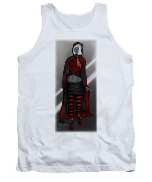 Pretentious Elf Tank Top by Amber Armstrong