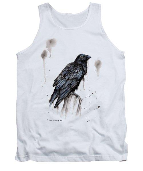 Raven  Tank Top by Sarah Stribbling