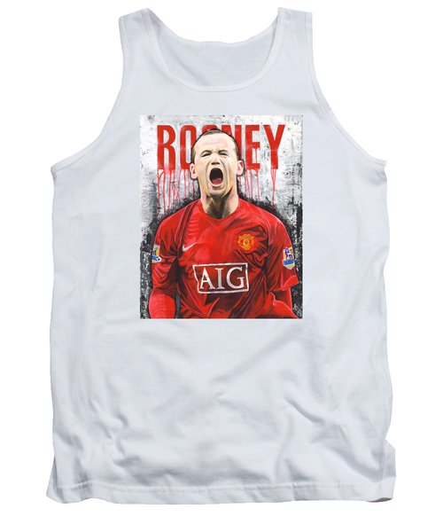 Rooney Tank Top by Jeff Gomez