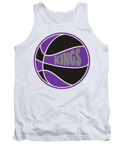 Sacramento Kings Retro Shirt Tank Top by Joe Hamilton