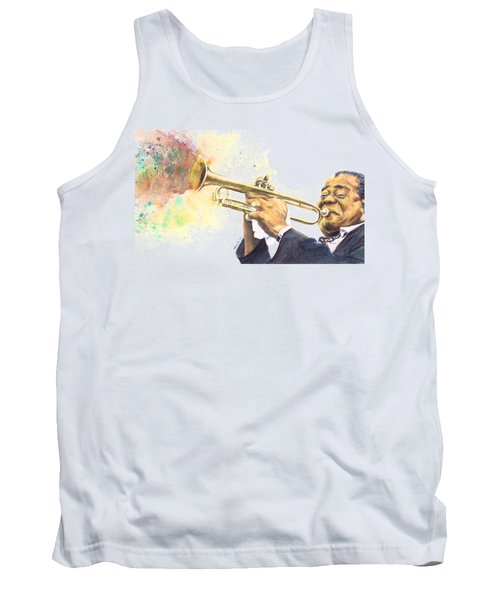 Satchmo Tank Top by Adrienne Norris