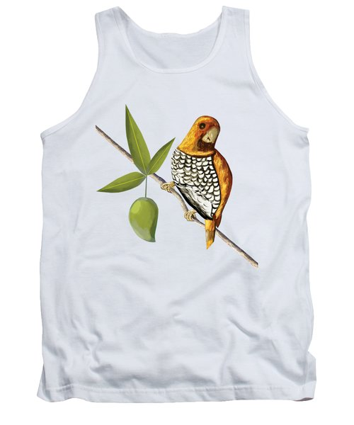 Scaly Breasted Munia D Tank Top by Thecla Correya