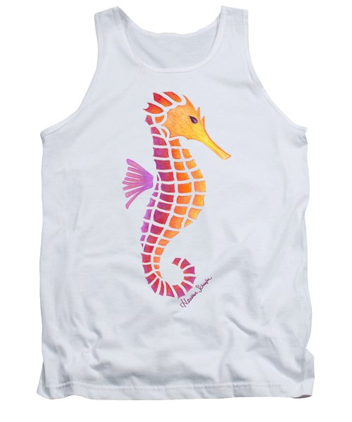 Seahorse Tank Top by Heather Schaefer