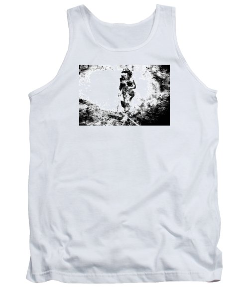 Serena Williams Dont Quit Tank Top by Brian Reaves