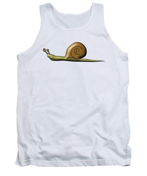 Snail Tank Top by Michal Boubin