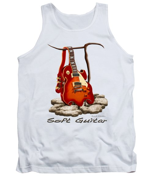 Soft Guitar - 3 Tank Top by Mike McGlothlen