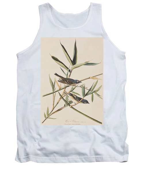 Solitary Flycatcher Or Vireo Tank Top by John James Audubon