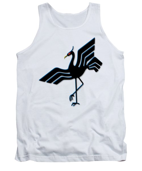 Stork Tank Top by Frederick Holiday